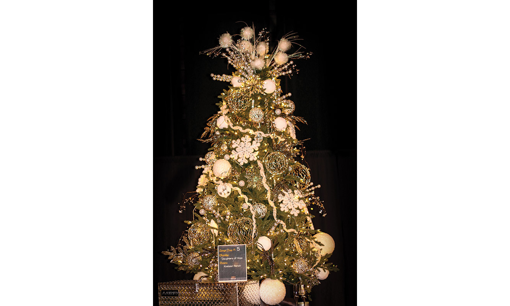 Annual Visalia Christmas Tree Auction
