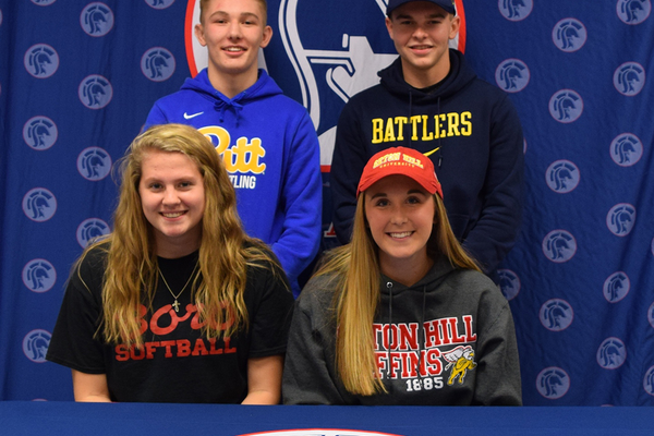 Shaler Area Students Sign Letters of Intent