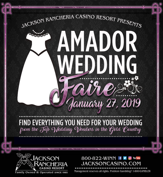 Jackson rancheria amador wedding faire 2019 sacramento bridal show cropped
