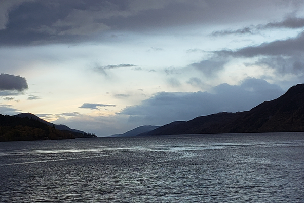 The view on a Loch Ness cruise