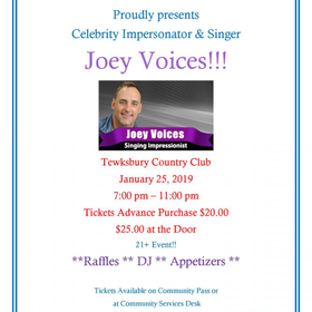 Joey voices flier