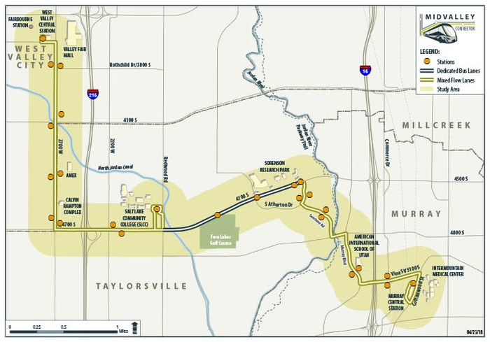 UTA's Midvalley Connector to reshape 4500 South communities