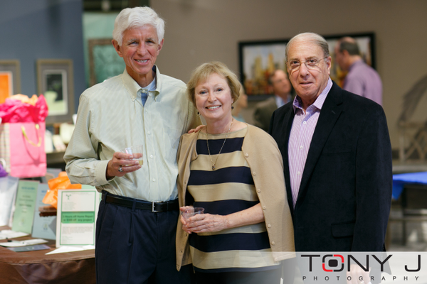 Charles Potok, Sharon Cook, and Barry Scher