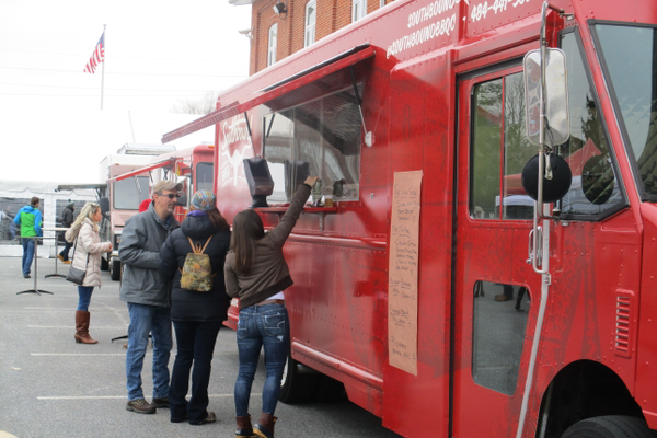 Six food trucks were on site all afternoon for hungry visitors.