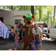 The Panormios family at an  RV campground