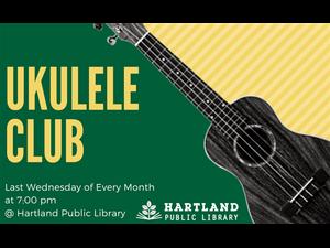 Ukulele club in Hartland - start Apr 24 2019 0700PM