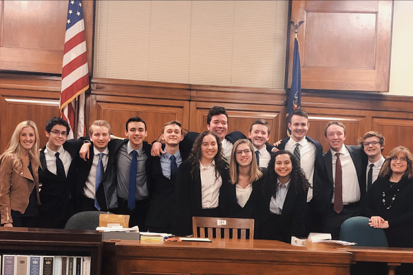 Eden Christian Academy Prepares for State Mock Trial