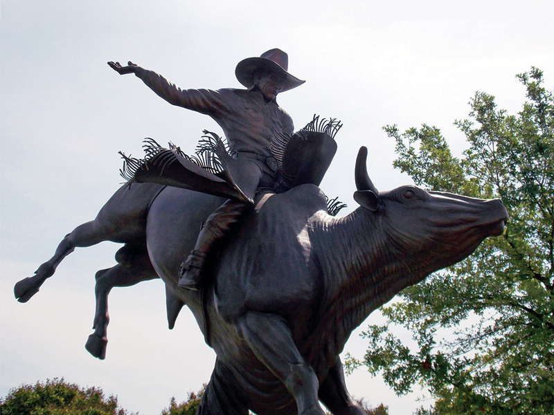 Lane Frost Clovis Sculpture Honors Love Of Rodeo Enjoy