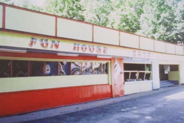The Lenape Fun House, circa 1960s.