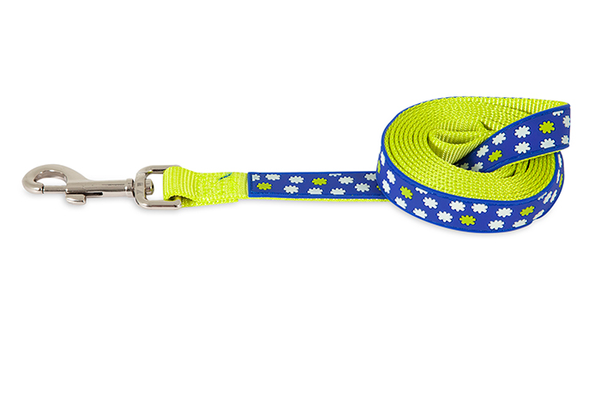 Petmate Glow in the Dark Tossed Stars Dog Leash