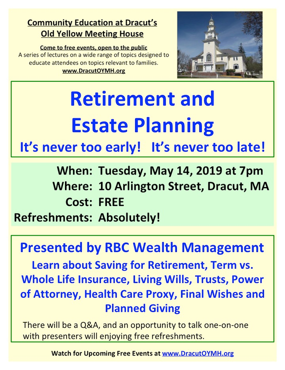 Retirement 20planning 20flyer