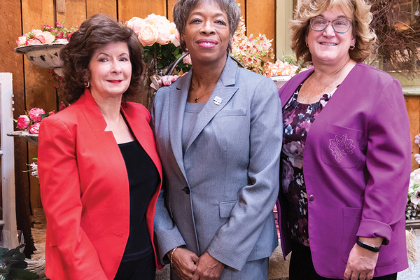 Judith P. Bernhard, President/CEO Advance Sourcing Concepts LLC, Doris Carson Williams, CCE, President and CEO African American Chamber of Commerce of Western Pennsylvania, Elizabeth Walsh, President Women's Business Enterprise Center