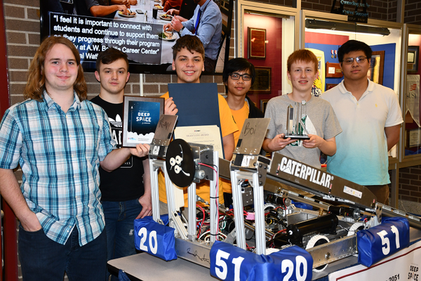 A.W. Beattie Earns Award at FIRST Robotic Competition