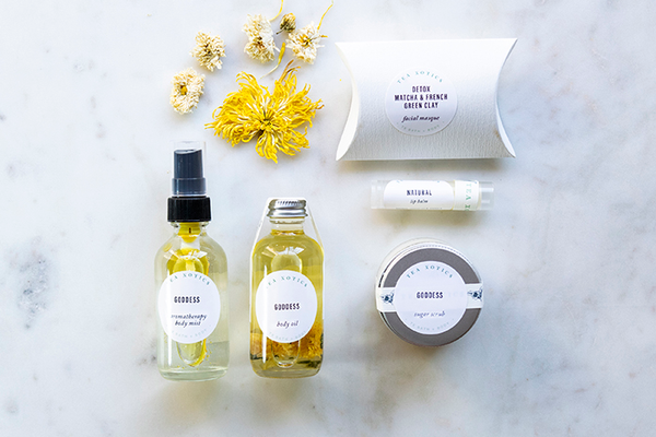 "The Goddess ""Lemongrass and Patchouli"" Gift Set"