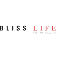 Blisslife logo blk red tag