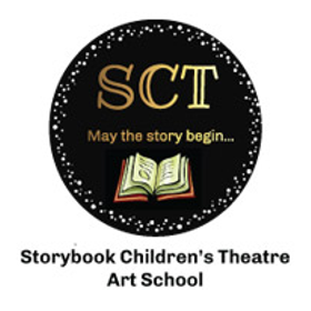 Sct logo with book circle art school