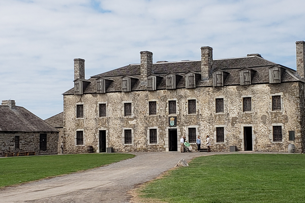 There is a lot to see at Old Fort Niagara, including the soldiers' quarters and live blacksmithing demonstrations.