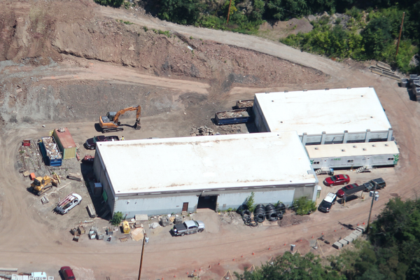ESC Before Construction Aerial. Photo by Hawkeye Aerial Photography