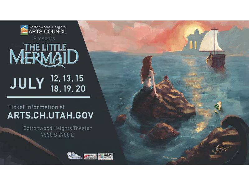 Disney S The Little Mermaid Comes To Cottonwood Heights This July Cottonwood Heights Journal