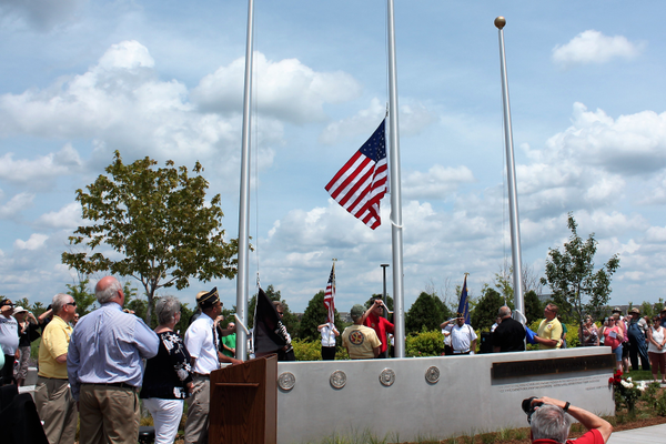 Maple Grove Veteran's Memorial Dedication Ceremony July 14, 2019 (photos by Wendy Erlien / Maple Grove Voice)