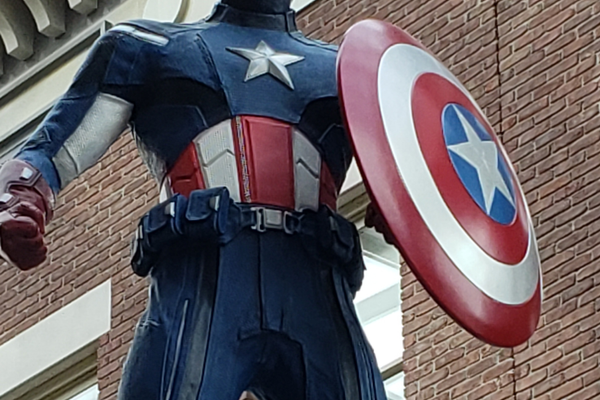 It's quite a surprise when Captain America, standing on a diner, greets you as you enter The Strong Museum in Rochester.