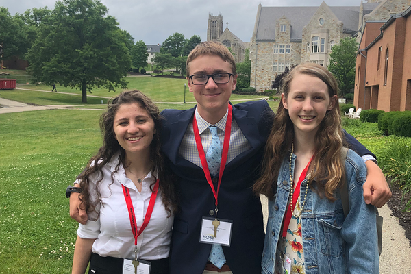Students Selected to Participate in HOBY Leadership Seminar