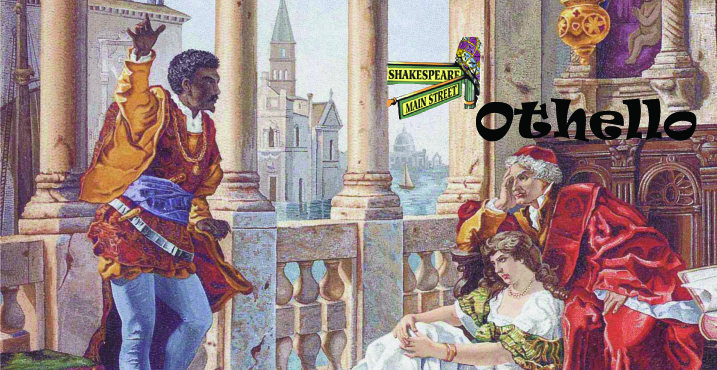 Othello for fb cover with name