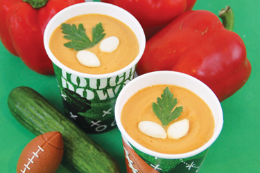 Chilled Red Bell Pepper Soup Recipe