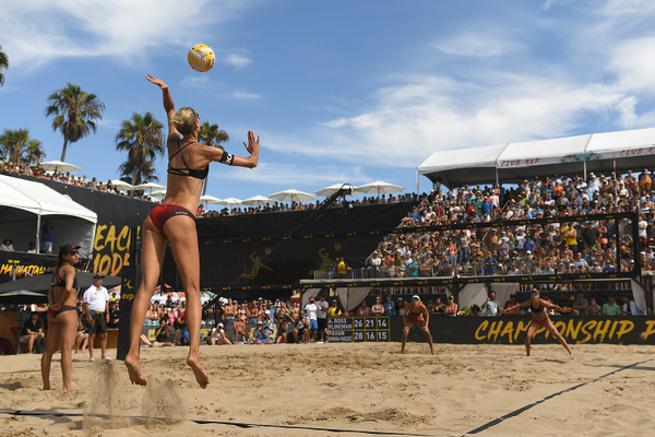 Sarah Pavan. Photo credit: Robert Beck/AVP