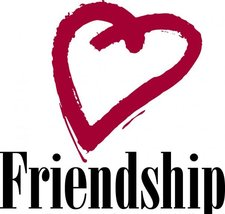 Medium friendship heart