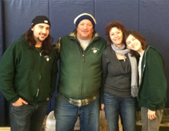 John Boy and his team at the  Mount Kisco Farmers' Market