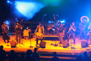 Red Baraat performing at MAYFest last year