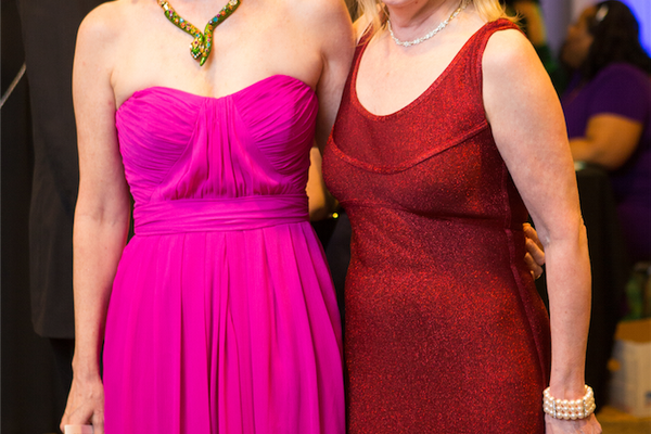Janet Luby and April Nyman