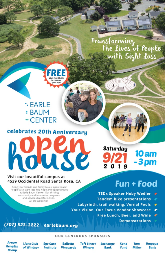 Earle 20baum 20center 20celebrates 2020th 20anniversary 20open 20house 20poster