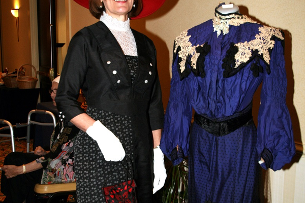 Maria Levandoski, winner of the Downton Abbey Style competition