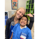 Katelyn Kraft works with severely disabled children at Exceptional Care For Children in Newark