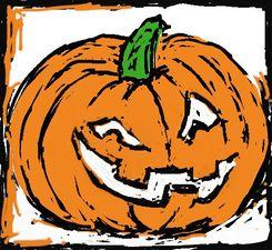 Medium pumpkin head 004b1