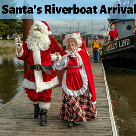Santa s 20riverboat 20arrival 20 1