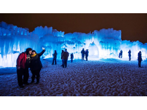 New Hampshire Ice Castles  - start Dec 30 2019 0200PM