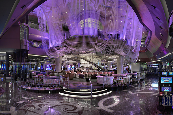 The Chandelier Lounge at The Cosmopolitan