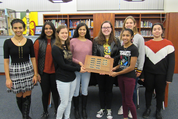 Seneca Valley Reading Team Finishes First