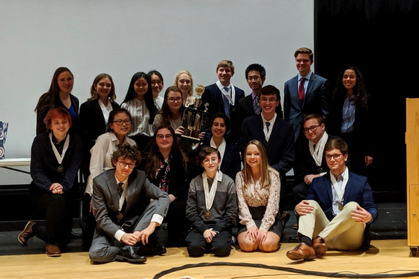 Seneca Valley Academic Decathlon Team Places First