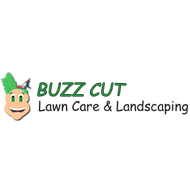Logo buzz cut lawn care and landscaping