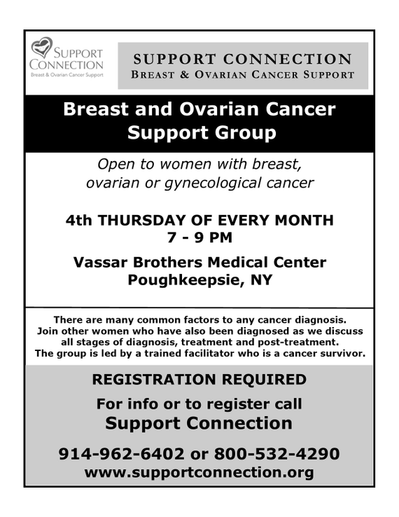 Vassar 20brothers breast 20and 20ovarian 20group evening