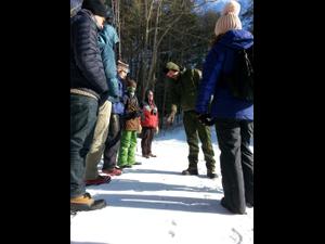 Winter Tracking Workshop NPS Photo