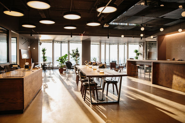 Industrious® co-working space at PPG Place