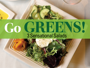 Go Greens 3 Sensational Salads