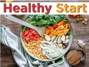 Healthy Start 5 New Recipes for the New Year