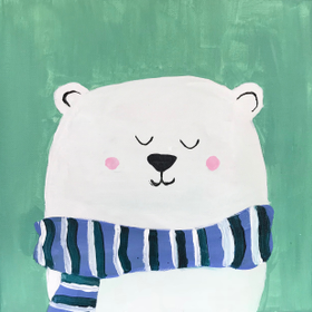 Polar 20bear 20canvas