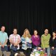 Team of the Year Awardees - Community Development Counter Staff: Mayor Tim Brown, Cliff Jones, Sean Nicholas, Amber Nicholas, Kathy Ainsworth, Ron Nicholas, Susan Mathieu, and Pall Gudgeirsson, City Manager.